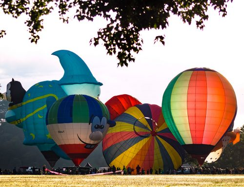 Capturing Balloons over Waikato festival images